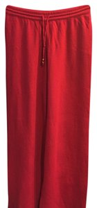 St. John Sport by Marie Gray Straight Pants Red