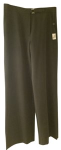 Max Studio Size 8 Business Casual Business Machine Washable Wide Leg Pants Black