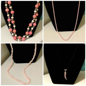Holiday Quad of Necklaces