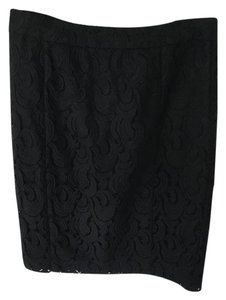Halogen Lace Skirt Black