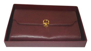 Etienne Aigner Etienne Aigner, Oxblood Leather Wallet