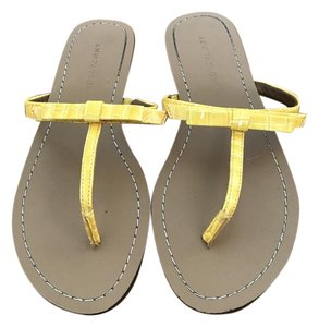 Ann Taylor Yellow Sandals