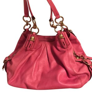 Coach Satchel in Rose