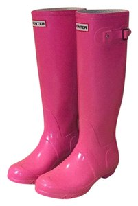 Hunter Bright Pink Boots