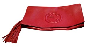 Gucci Red Clutch