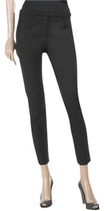 Miu Miu Wool Stretchy Ankle Trouser Pants Black