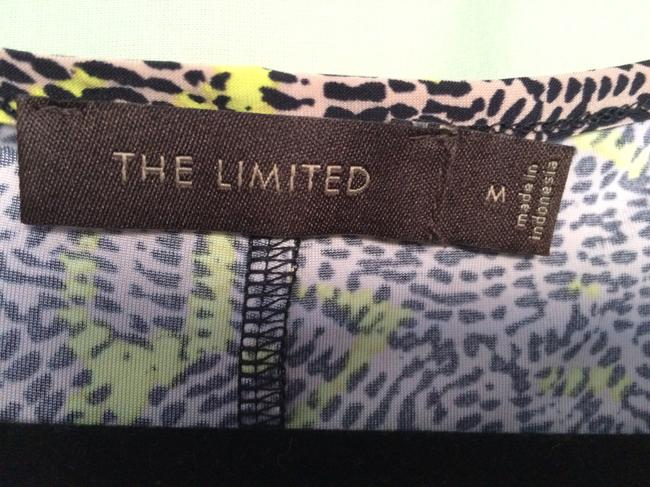 The Limited T Shirt Yellow, Beige & Black