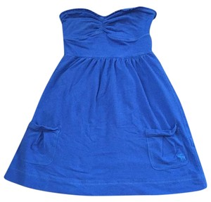 Abercrombie & Fitch short dress Royal blue on Tradesy