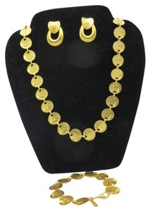 Premier Designs Cape Coral Necklace and Bracelet-also including Doorknocker Earrings