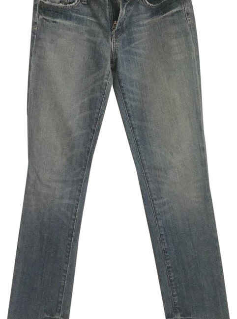 """Citizens of Humanity Blue """"Ava"""" Straight Leg Jeans Size 29 (6, M) Citizens of Humanity Blue """"Ava"""" Straight Leg Jeans Size 29 (6, M) Image 1"""