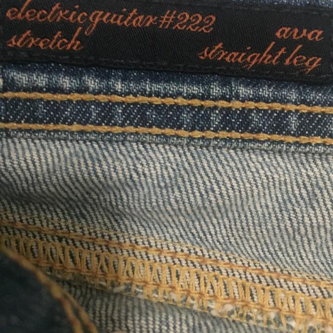 """Citizens of Humanity Blue """"Ava"""" Straight Leg Jeans Size 29 (6, M) Citizens of Humanity Blue """"Ava"""" Straight Leg Jeans Size 29 (6, M) Image 4"""