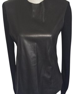 Helmut Lang Leather Sweater