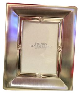 Things Remembered Stunning Silver Elite Photo Album w/ Swarvorski Crystals