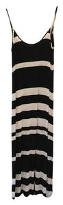 black and white Maxi Dress by Woodleige