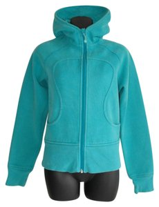 Lululemon scuba hoodie jacket zip up turquoise