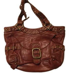 Kooba Studded Leather Hobo Bag
