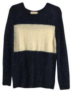 For Love & Lemons Knit Striped Comfortable Sweater