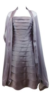 Carmen Marc Valvo Purple Dress