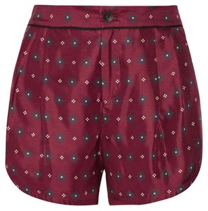 Rag & Bone Dress Shorts Red