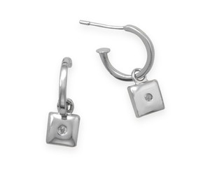 Other Sterling Silver 3/4 Hoops