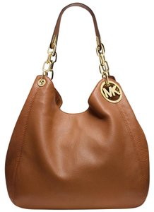 Michael Kors Tote in Luggage/Gold