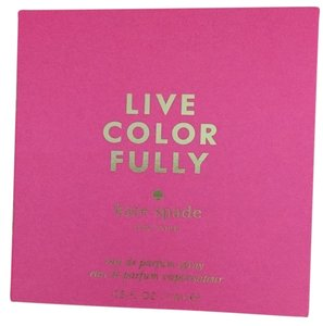 Kate Spade 2 X Kate Spade Live Color Fully Eau de Parfum EDP Fragrance Sample