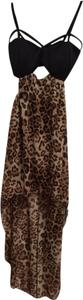 Love Culture High High Low Low Sexy Hot Chiffon Animal Print Open Mini Little Lbd Cut Leopard Spring Summer Summertime Cool Dress