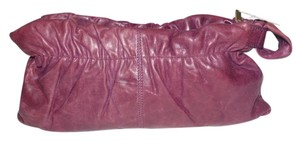 Red Carpet Collection Great Everyday Unused Condition High-end Boho Look Buttery Soft Style purpliish brown leather Clutch