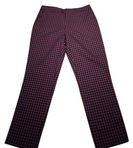 Marc by Marc Jacobs Straight Pants Purple and blue