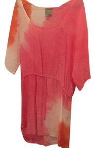 C&C California short dress Tie Dye Creamsicle on Tradesy