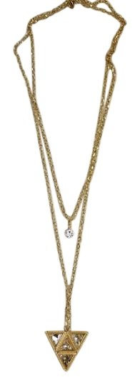Preload https://img-static.tradesy.com/item/19845185/rose-gold-double-chain-necklace-0-1-540-540.jpg