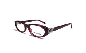 Chanel CH 3201 (color) MERLOT RED Cute Chanel Cat Eye Glasses - FREE Shipping