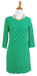 Talbots St.patrick's Day Overlay Dress