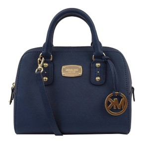 MICHAEL Michael Kors Small Satchel in Navy