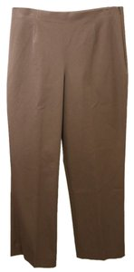 NIC+ZOE Straight Pants Taupe