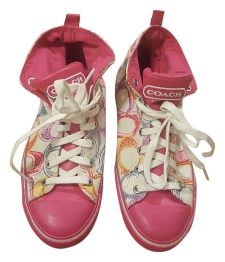 Preload https://img-static.tradesy.com/item/19845415/coach-pink-reduced-price-multi-colored-sneakers-size-us-85-regular-m-b-0-1-540-540.jpg