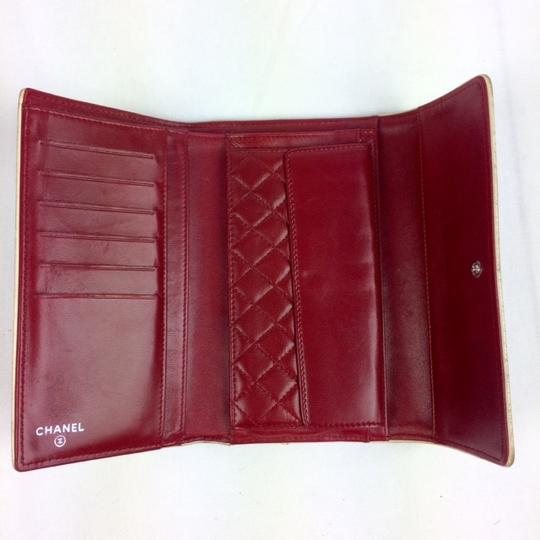 Chanel East West Leather Wallet Image 1