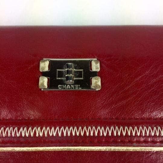 Chanel East West Leather Wallet Image 7
