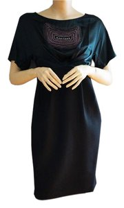 3.1 Phillip Lim Beaded Wool Embroidered Dress