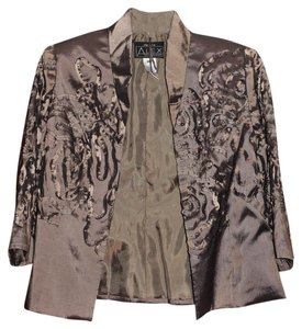 Alex Evenings Pewter Blazer