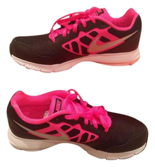 Preload https://img-static.tradesy.com/item/19845540/nike-black-and-hot-pink-down-shifter-sneakers-size-us-6-0-1-540-540.jpg