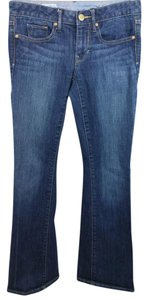Gap Blue Stretchy Boot Cut Jeans-Medium Wash