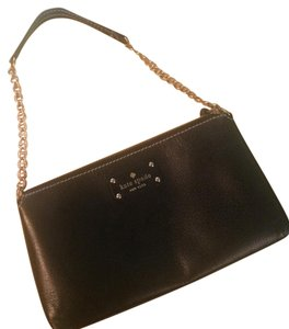 Kate Spade Chain Zip Leather Shoulder Bag