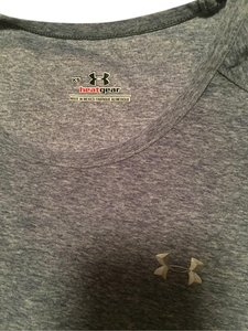 Under Armour T Shirt Blue heathered
