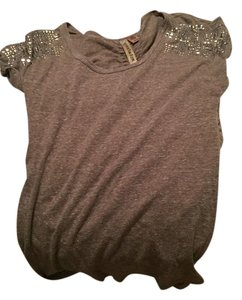 Eyeshadow T Shirt Brown bedazzled