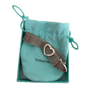 Tiffany & Co. Somerset Heart Buckle Bracelet