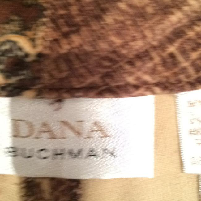 Dana Buchman Relaxed Pants MULTICOLOR VELVET with PRINT Image 8