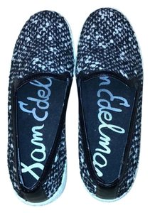 Sam Edelman Black and white knit Flats