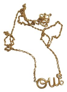 Dior OUI NECKLACE 18K YELLOW GOLD AND DIAMOND