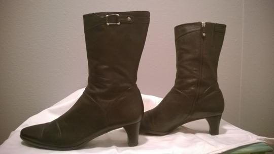 Cole Haan 8 Narrow Chocolate Brown Boots